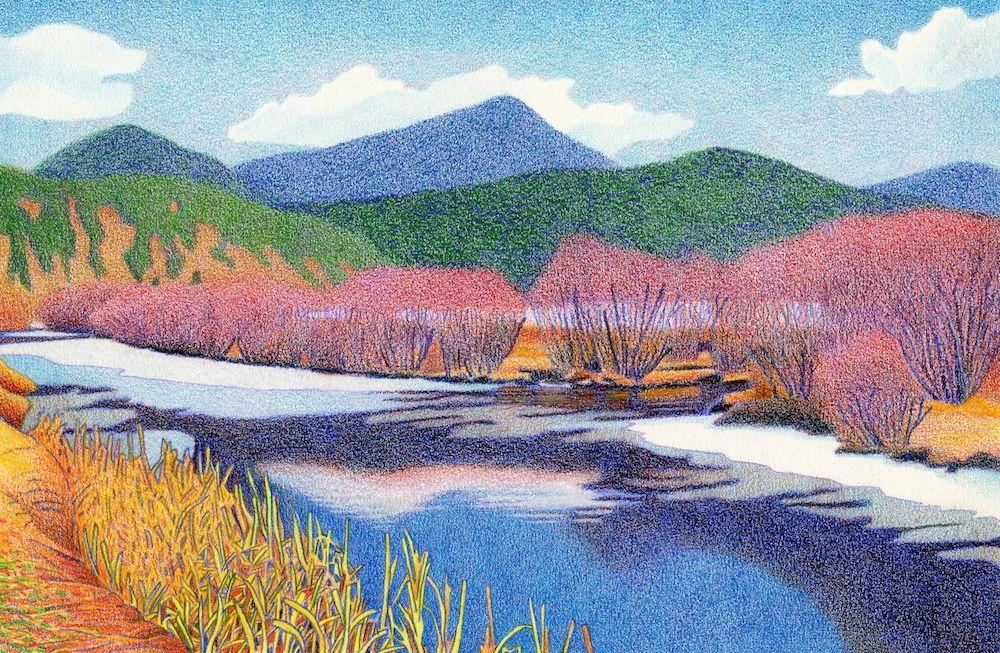 1000x653 Evergreen Lake Fall