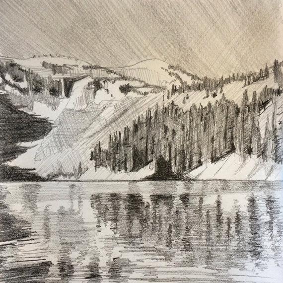 570x570 Lake Ann Lake Mountain North Cascades Pacific Northwest