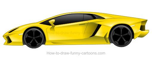 Lamborghini Car Drawing At Getdrawings Free Download