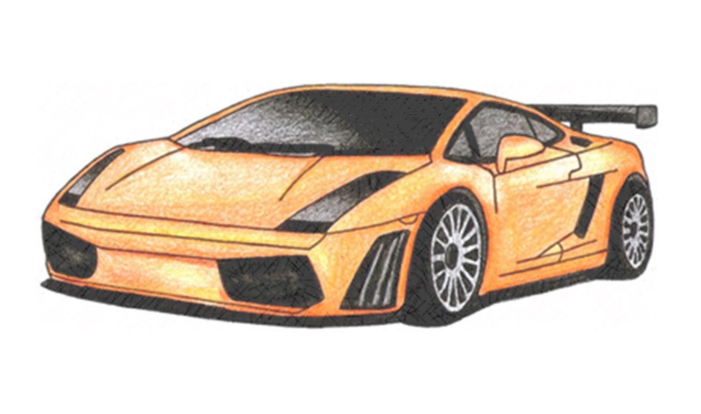1500x885 How To Draw A Lamborghini Gallardo (Car)