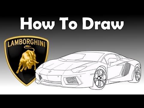 480x360 How To Draw A Lamborghini Aventador