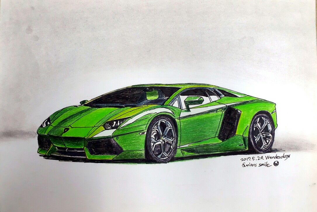 1085x728 Lamborghini Aventador Lp700 4 Drawing Automobile Designcar