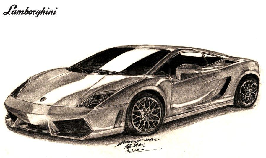 Lamborghini Gallardo Drawing at GetDrawings.com | Free for personal ...