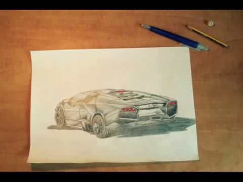 480x360 How To Draw A Lamborghini Reventon