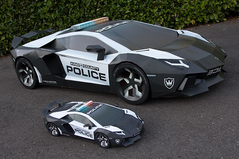 800x533 Lamborghini Aventador A E2 Ultimate Papercraft Supercar (With