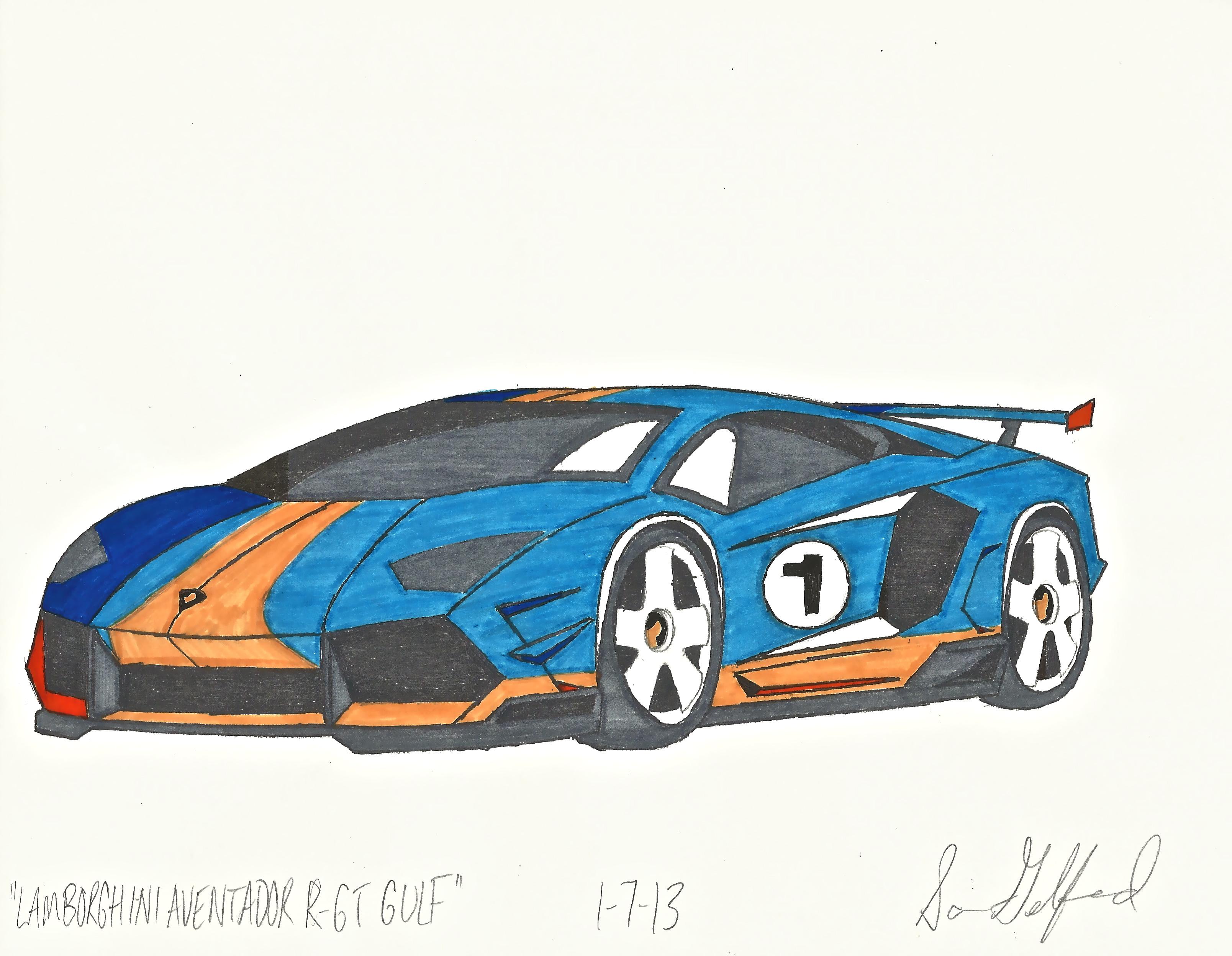 Lamborghini Reventon Drawing At Getdrawings Com Free For Personal