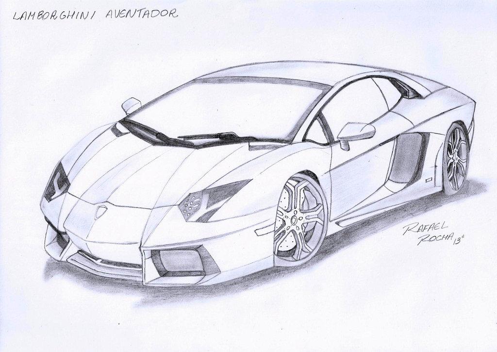 Lamborghini Reventon Drawing at GetDrawings.com | Free for personal ...