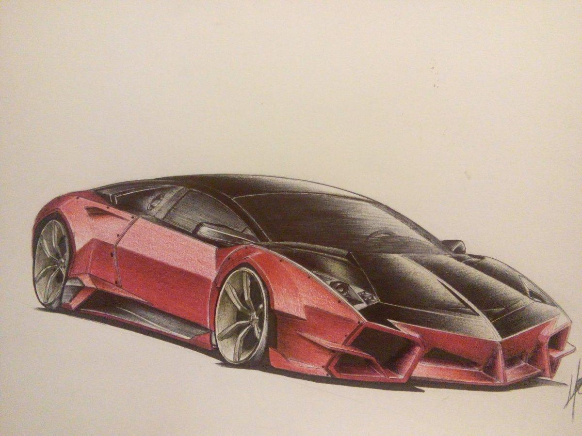 Ausmalbilder Autos Lamborghini : Lamborghini Reventon Drawing At Getdrawings Com Free For Personal