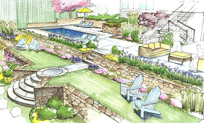Landscape Architecture Drawing At GetDrawings.com