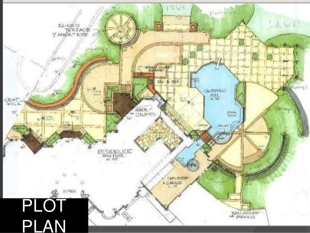 638x479 Landscape Architecture Drawings