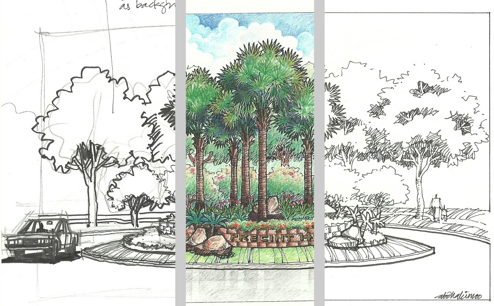 2004x1244 Landscape Design Drawing Techniques Landscape Architecture Plan