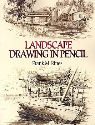 304x400 Landscape Drawing In Pencil Book By Frank M Rines 1 Available