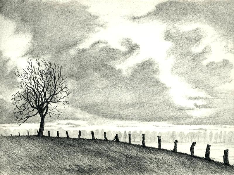 800x599 landscape pencil drawings pencil sketches magnificent sketch