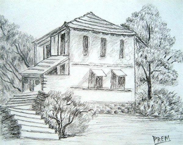 600x474 landscape sketches for beginners drawn nature beginner 6 landscape