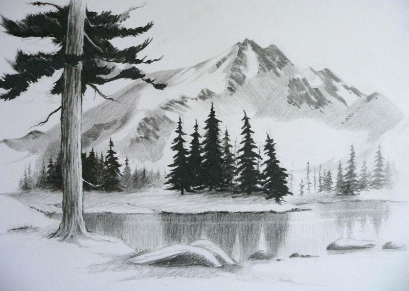 800x570 Landscape Drawing Tutorial Van Perspective Drawing Landscape
