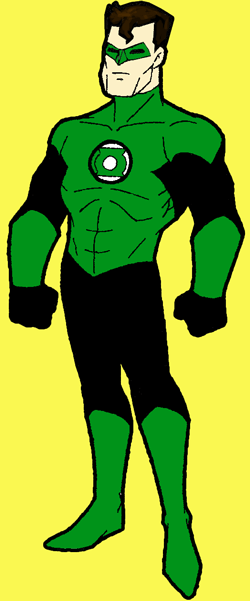 250x601 How To Draw Green Lantern From Dc Comics With Step By Step Drawing