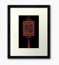 210x230 Japanese Lantern Drawing Wall Art Redbubble