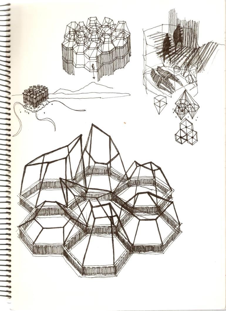 770x1059 Saatchi Art Lanterns Drawing By Luis Felipe Lf Garcia Morcillo