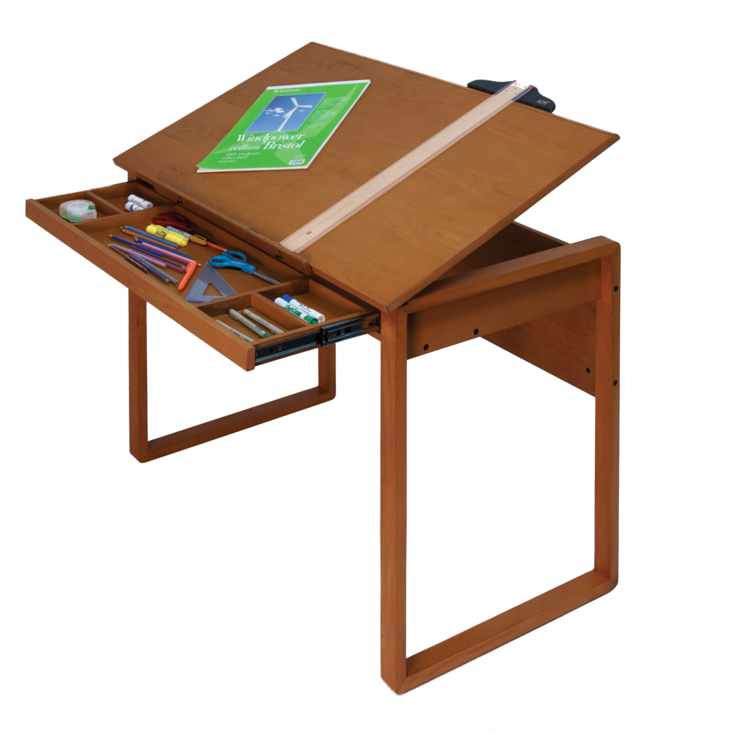 2494x2511 Designs Ponderosa Wood Topped Craft Table 13285