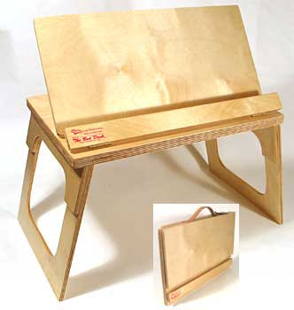332x350 Lap Desk Bookstand Music Stand Art Easel Cookbook Craft Table