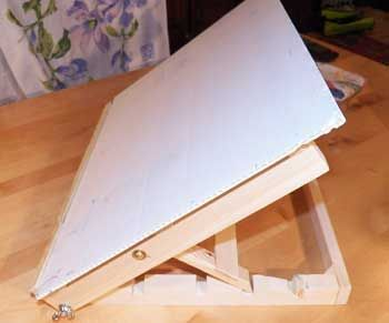 350x291 Table Easel With Drawing Board Let's Get Artistic