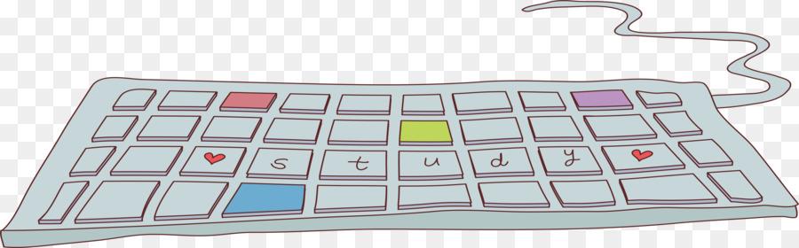 900x280 Computer Keyboard Laptop Numeric Keypad Cartoon Drawing