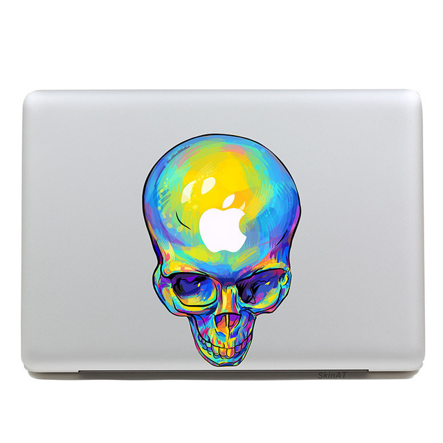 640x640 Removable Diy Colored Drawing Human Skeleton Tablet Sticker