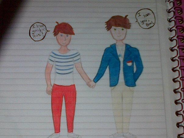 604x453 Drawing Larry By Sara1113