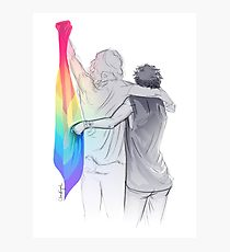210x230 Larry Stylinson Drawing Photographic Prints Redbubble