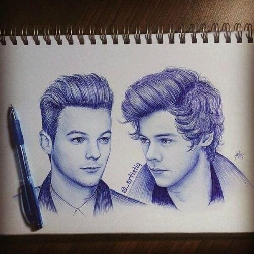 500x500 Drawing Of Larry Stylinson By Larry1dcarrotscats