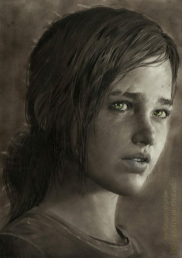 600x847 Ellie (The Last Of Us)