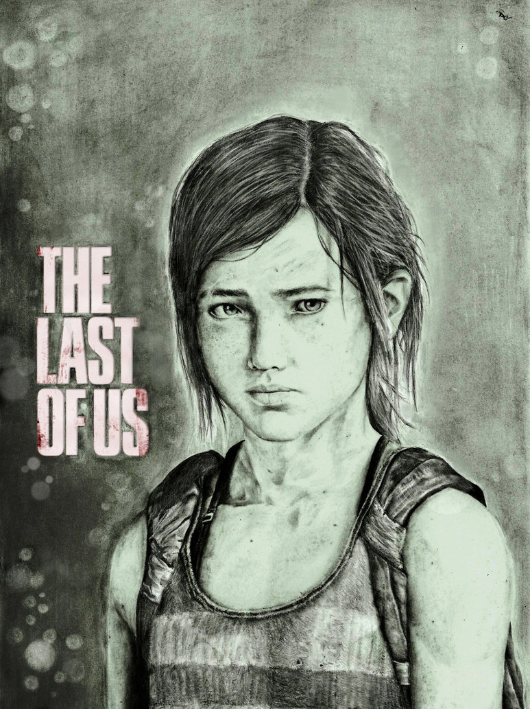 773x1033 The Last Of Us Drawing Ellie By Zakvalkyrie
