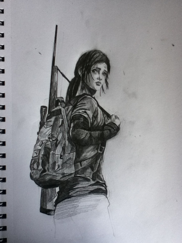 720x960 The Last Of Us Ellie By Takuanui