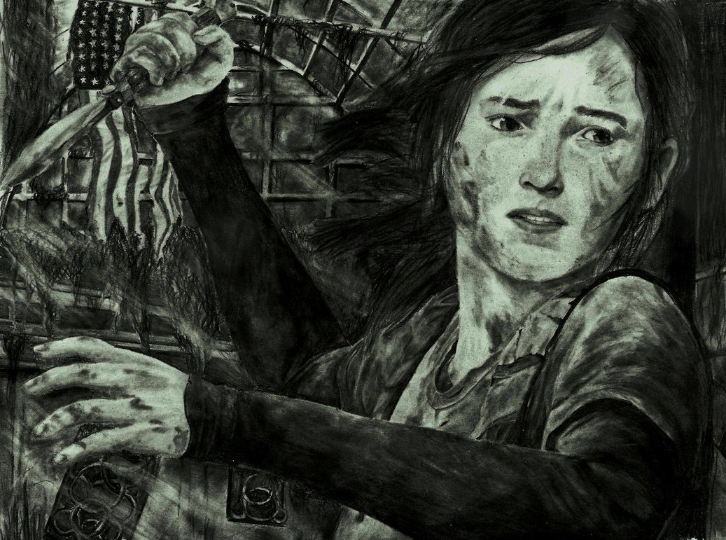 1037x771 The Last Of Us Drawing Endure And Survive By Zakvalkyrie