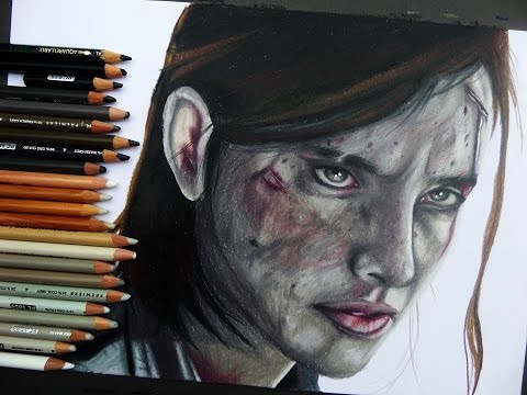 480x360 The Last Of Us 2 Speed Drawing
