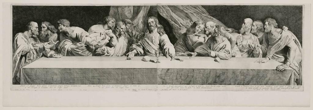 1024x360 The Last Supper Museum Of Fine Arts, Boston