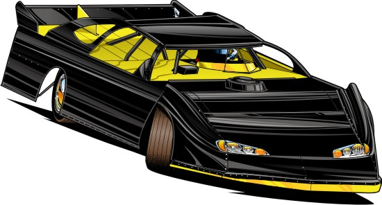 550x296 Late Model Drawing By Bmart333