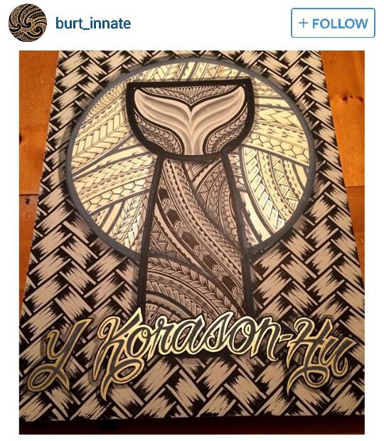 540x620 Polynesian tribal latte stone .would make a great tattoo