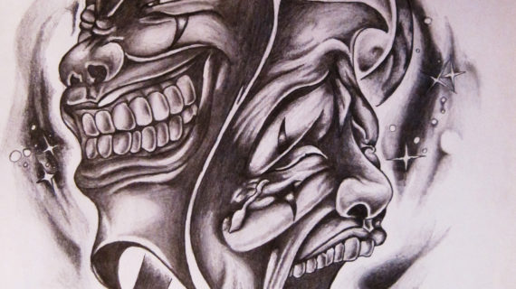 570x320 Tag Smile Now Cry Later Tattoo Drawings