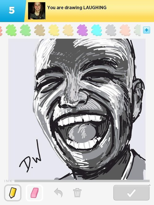500x667 Laughing Drawings