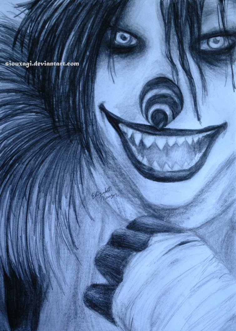 755x1059 Laughing Jack By Siouxagi