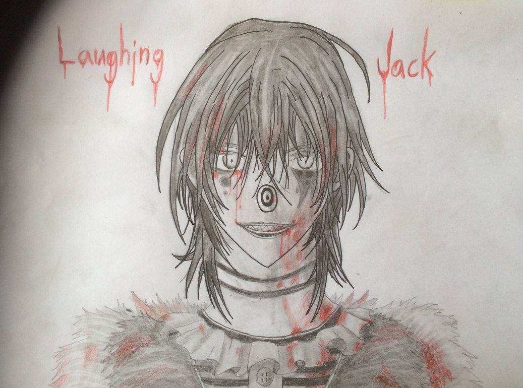 1037x770 Laughing Jack Drawing By Jokesterhiro