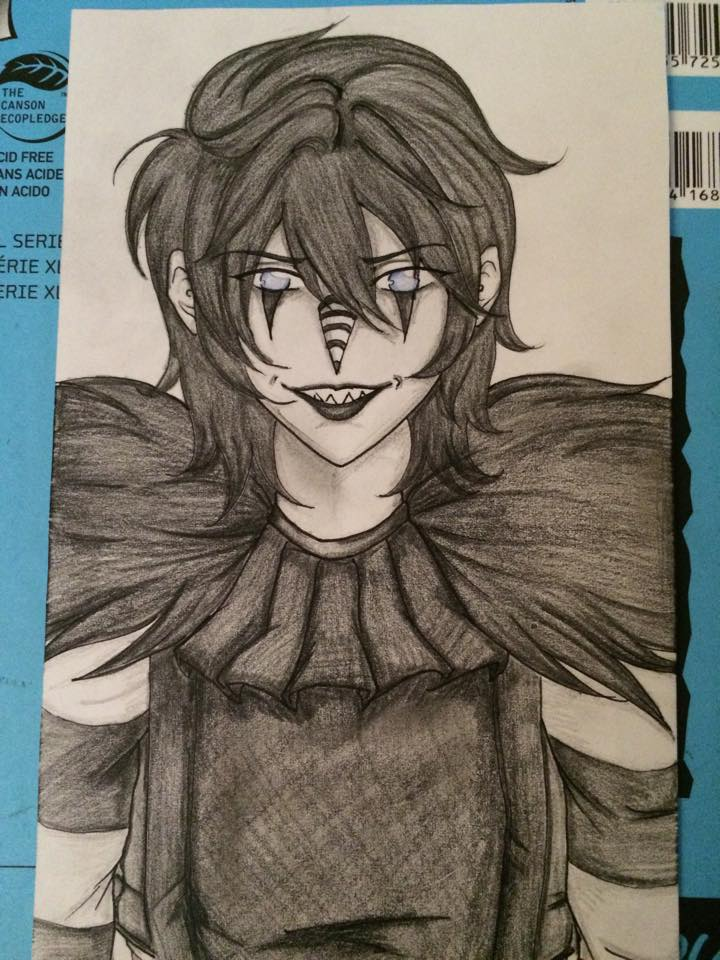720x960 Laughing Jack. Not My Art But This Is Awesome