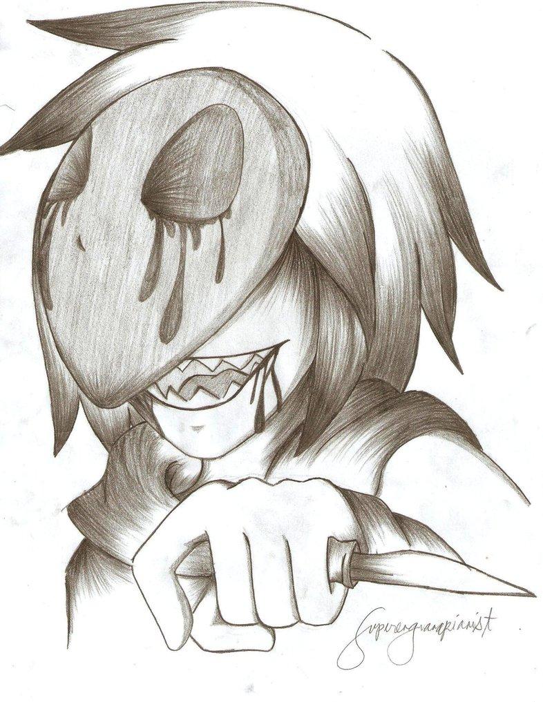 786x1017 Easy Creepypasta Drawing Eyeless Jack By Superenguanapianist