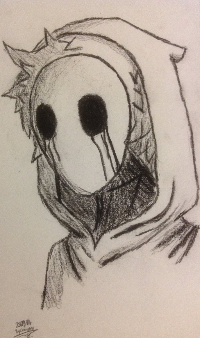 688x1161 Eyeless Jack Drawing By Crazy2dragons