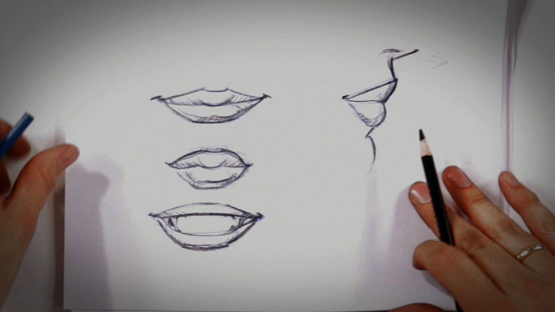 1920x1080 How To Draw Lips Drawing Tips