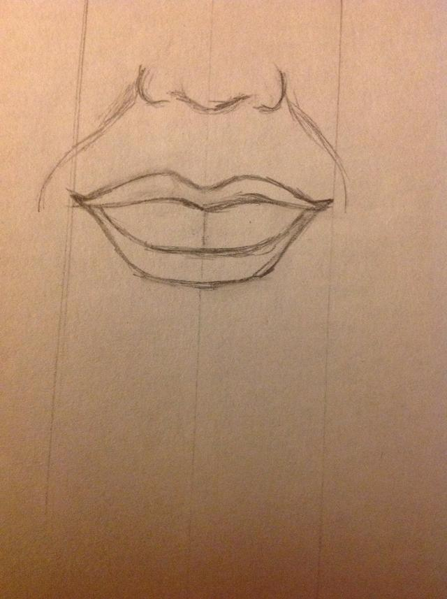 640x857 How To Draw A Face With A Smile