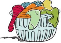 200x140 Ideal Laundry Basket Cliprt Drawing Of Pile Of Laundry In