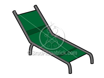 432x324 Clip Art Of A Cartoon Lawn Chair Clipart Lawn Chair Cartoon