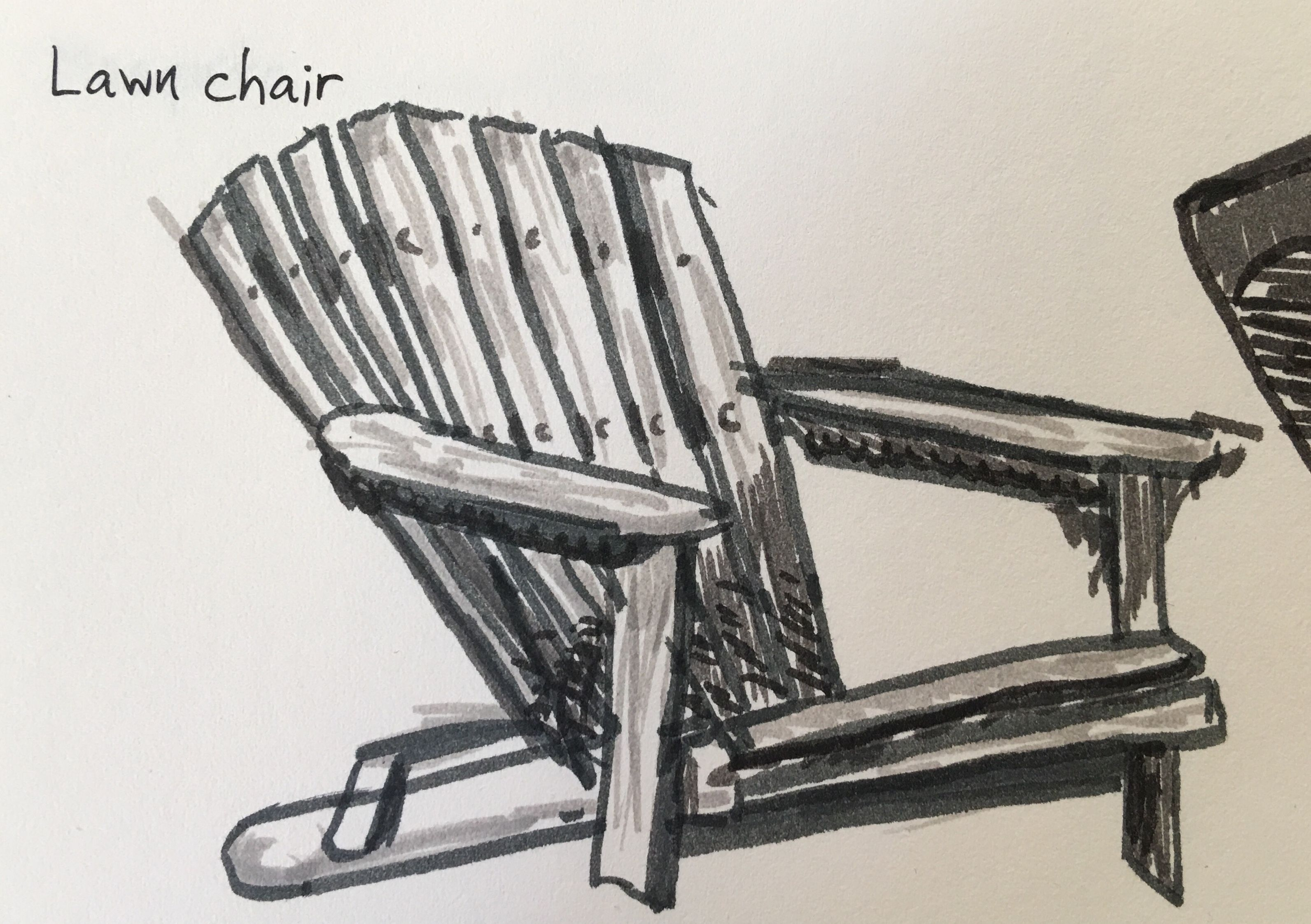 3184x2246 Lawn Chair Drawing Prompt